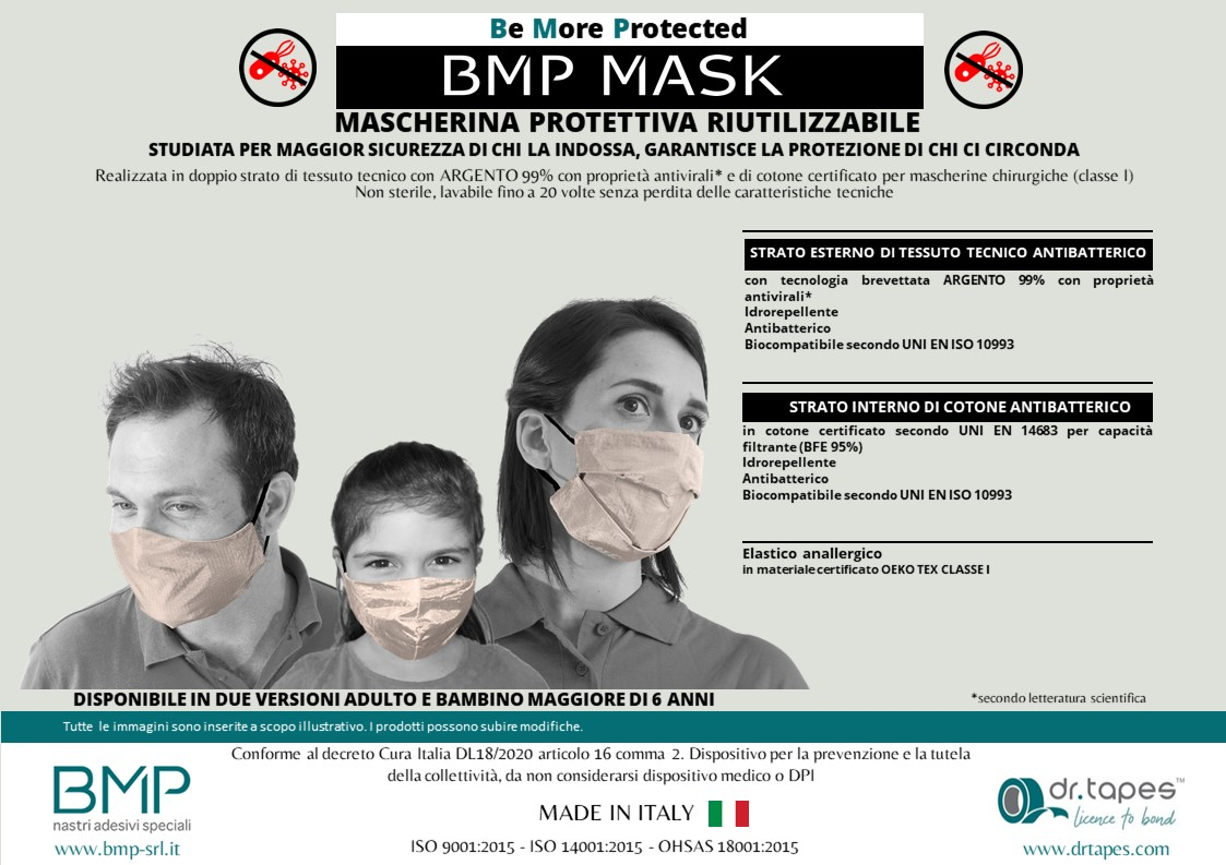 BMP MASK - Spegni le candeline in sicurezza!